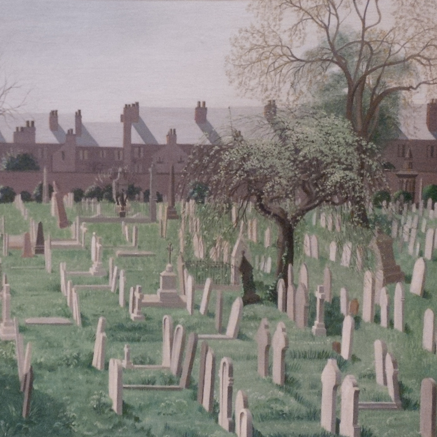 Spring in the Cemetery (1956) by Marion Adnams