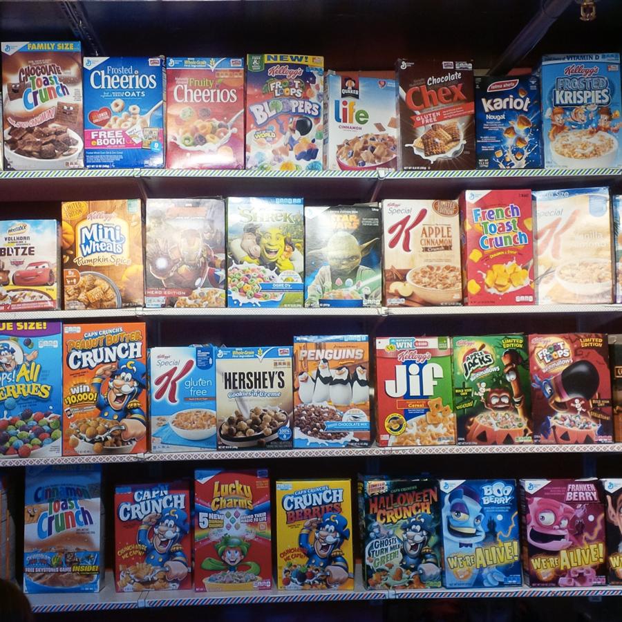 Inside a Cereal Killer shop