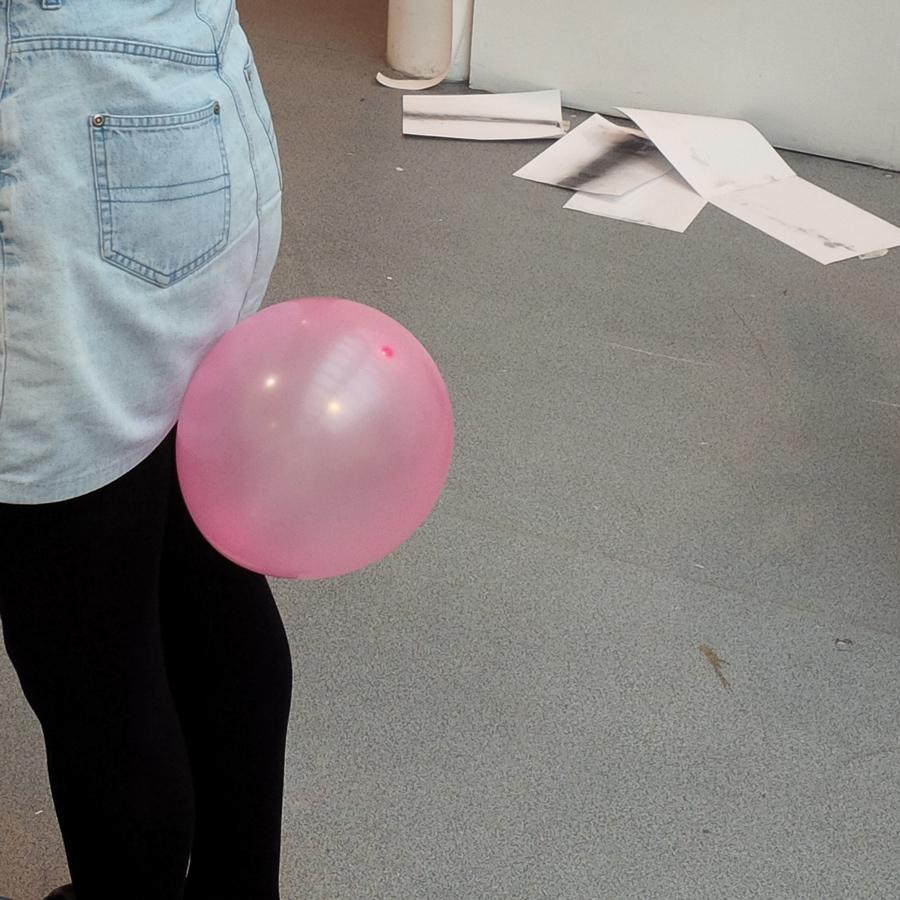 Balloon poop