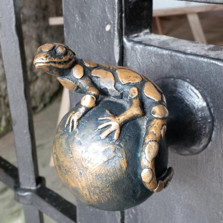 Salamander doorknob