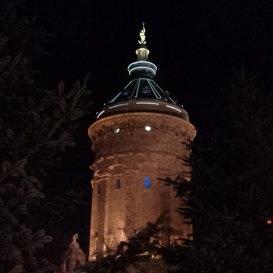 Der Mannheimer Wasserturm