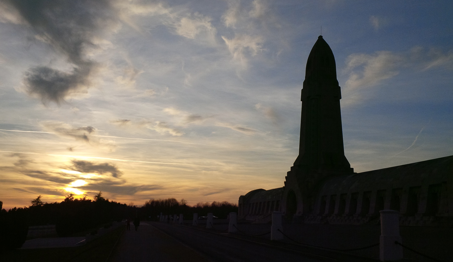 The Douaumont ossuary