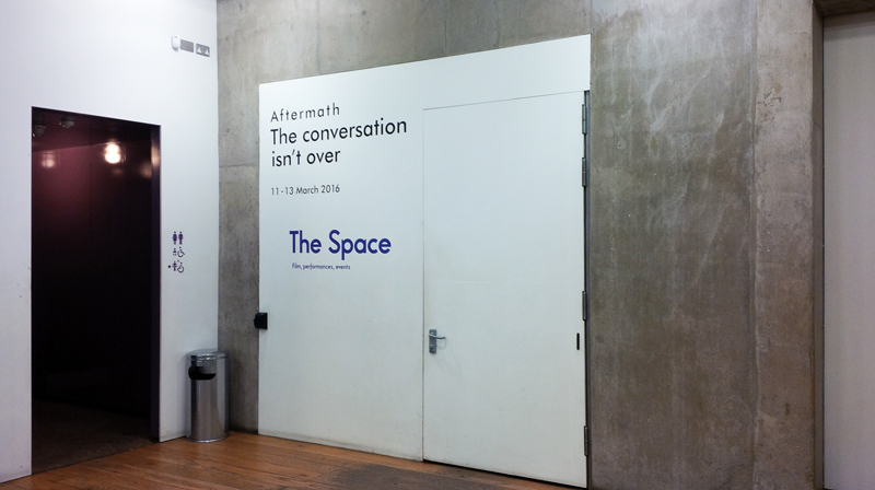"""The Space"" in Nottingham Contemporary"
