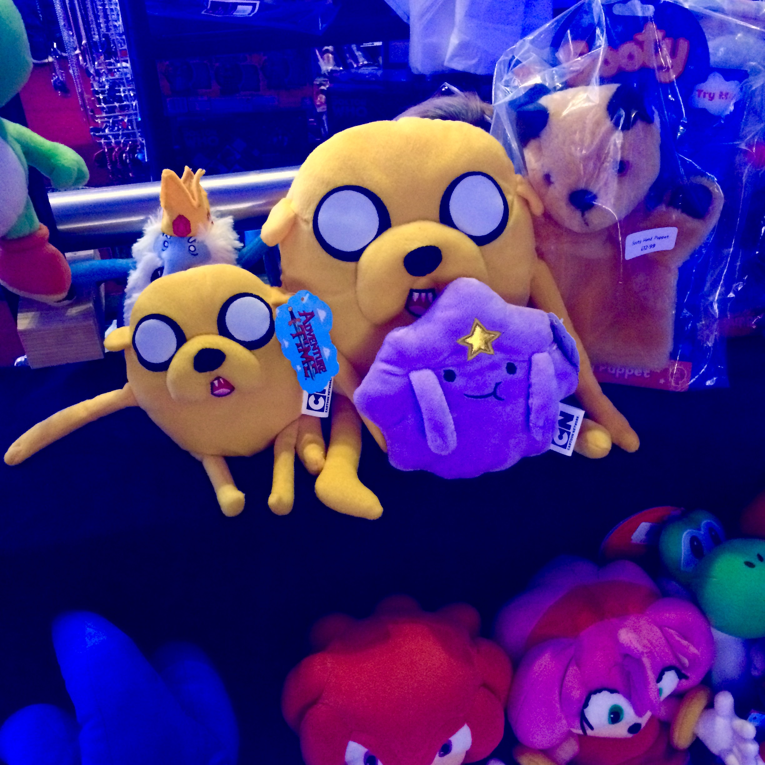 Jakes and LPS from Adventure Time