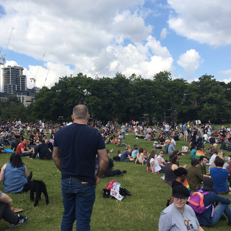Pride in the Park, in Vauxhall Park